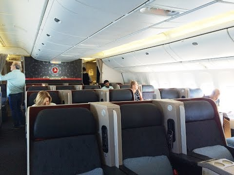 Turkish Airlines Business Class Review in 2 Minutes