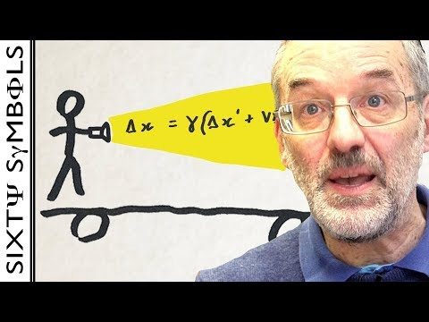 Why you can't go faster than light (with equations)  - Sixty Symbols