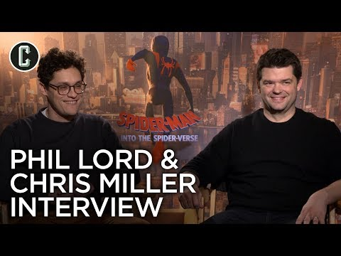 Spider-Man: Into the Spider-Verse: Phil Lord and Chris Miller Interview