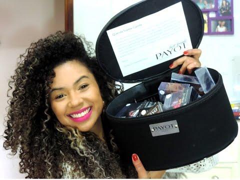 pirandooo-♥-recebidos:-maleta-de-maquiagem-payot-(abrindo-a-caixa)