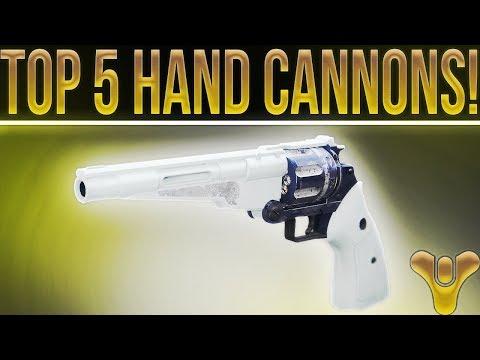 "DESTINY 2 TOP 5! (""My"" Top 5 Best Legendary Hand Cannons)"