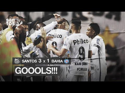 SANTOS 3 X 1 BAHIA | GOLS | BRASILEIRÃO (01/11/20)