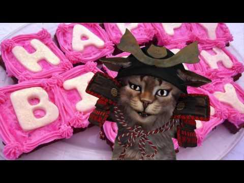 Поздравление с днем рождения мужчине видео открытка 513