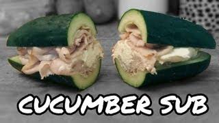 Turkey Cucumber Sub Sandwich Recipe