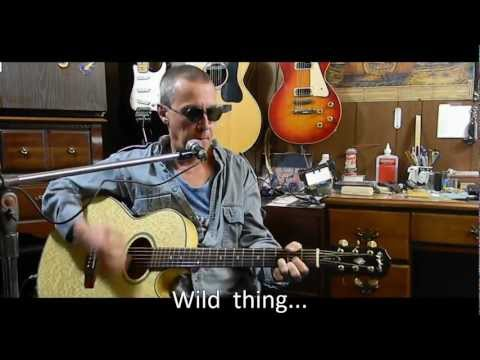 Wild Thing with Lyrics/Chords -  Acoustic Cover - Easy for Beginners  - L123