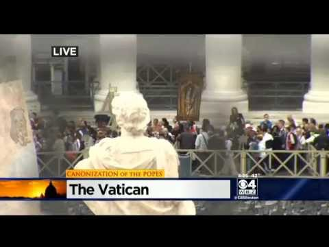 Popes Canonized In Vatican City