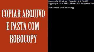 Robocopy - Como copiar pastas e arquivos mantendo as permissões de origem no Windows?