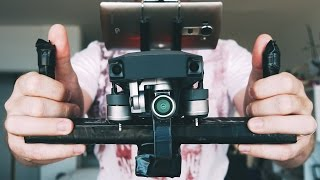 DJI MAVIC PRO | Handheld DIY Flycam build tray AKA Steadycam