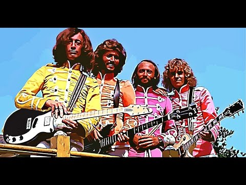 Bee Gees Peter Framptont: Sgt  Peppers Lonely hearts club band With a little help from my fri