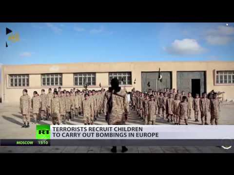 Underage jihad: Terrorists brainwash children to carry out bombings in Europe