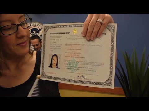 🇱🇷  Oath Ceremony Naturalization 🇱🇷   Florida - USCIS New UScitizen