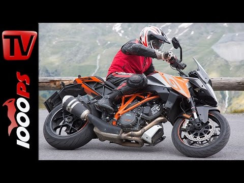 KTM 1290 Super Duke GT Test in den Alpen | High Bike Testcenter Paznaun