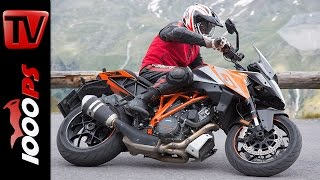 KTM 1290 Super Duke GT Test in den Alpen | High Bike Testcenter Paznaun