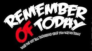 Remember Of Today - Pergi Hilang dan Lupakan Official Lyrics ( New Version)
