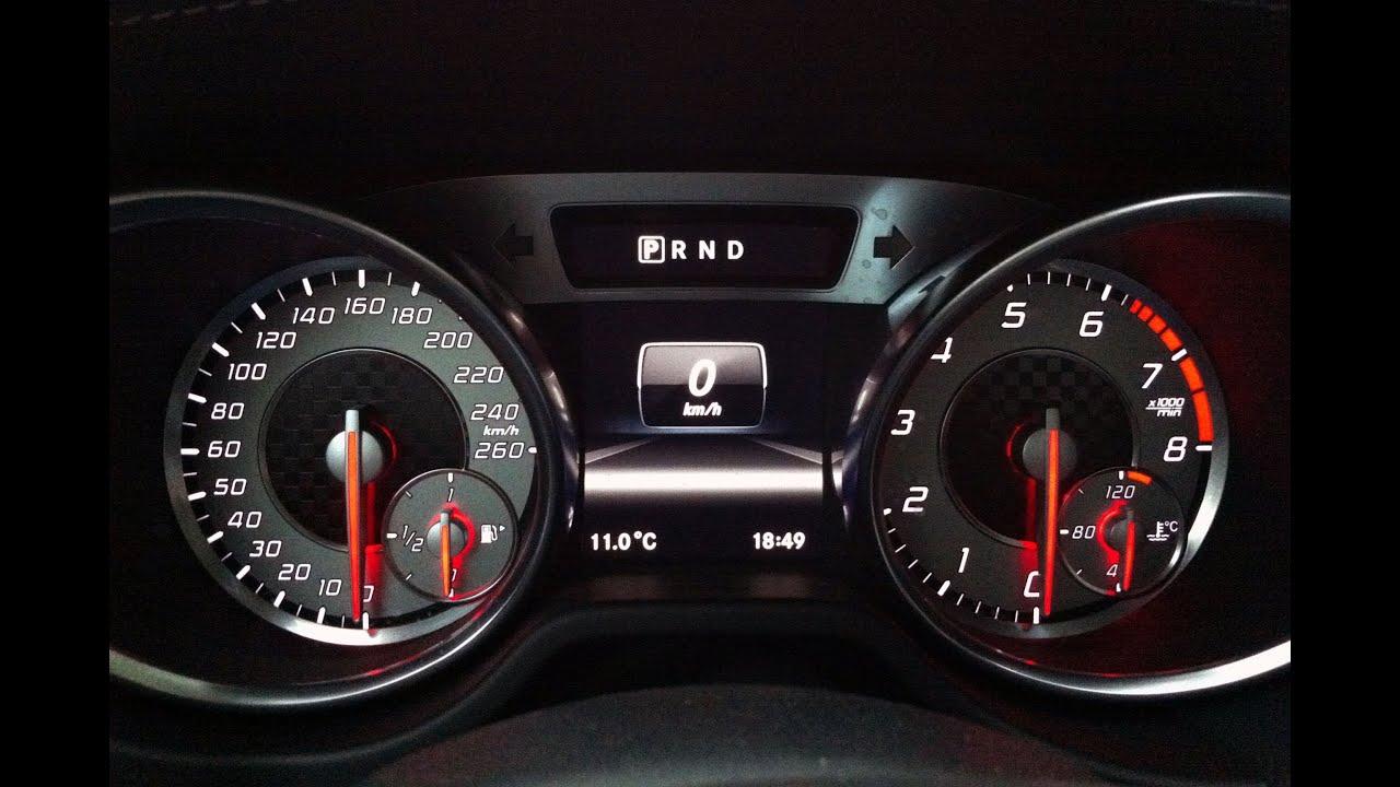 Mercedes Benz SL 500 4.6l V8 Biturbo 435HP 0-250 km/h VMAX ...