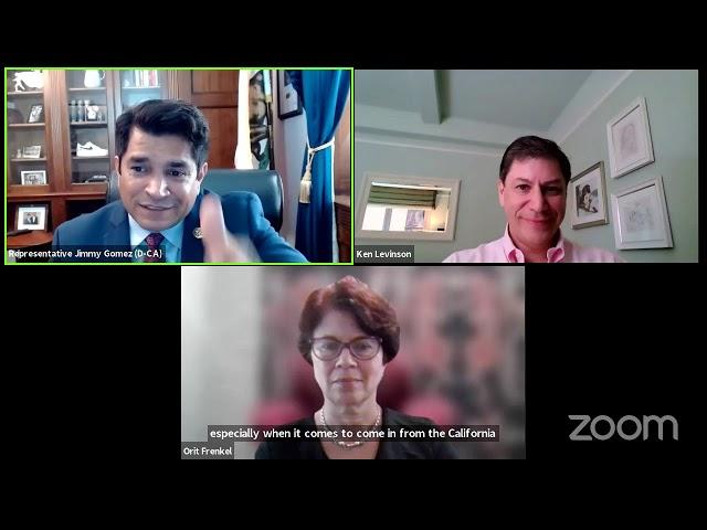 WITA Webinar: Discussion with Representative Jimmy Gomez (D-CA)