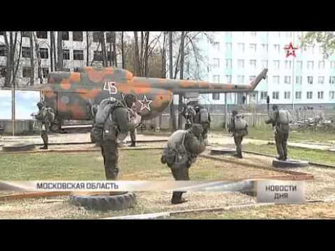 Спецназ ВДВ выдержал экзамен за пять минут