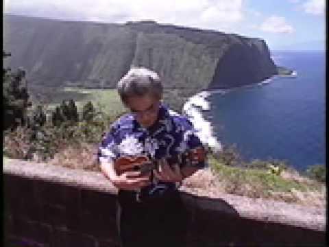 Ukulele Master Ohta San Performing Waipio Youtube