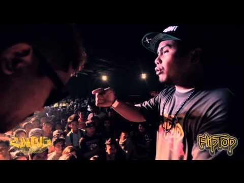 FlipTop - Batang Rebelde vs Lil John