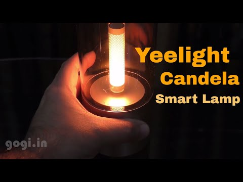 Xiaomi Yeelight Candela Smart Ambience Light review (in Hindi) - For Candle light Ambience