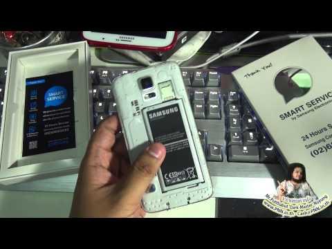 ความประทับใจ ศูนย์บริการ Samsung ส่งซ่อม Galaxy S5 เสียเพราะน้ำเข้า