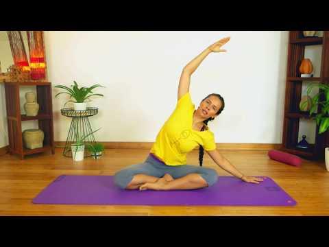 Cours complet de Hatha yoga dynamique - Etirement - Renforcement musculaire -Méditation