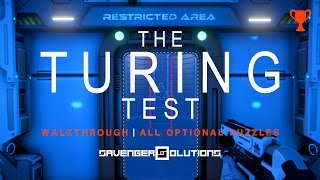 THE TURING TEST | All Optional Puzzles - Restricted Areas | PS4