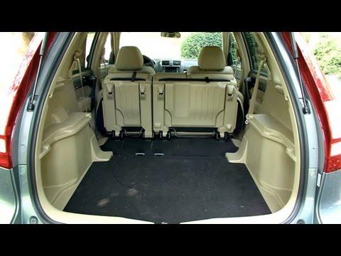 2010 Honda Crv Cargo Capabilities Youtube