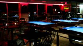 Brawl at the pool hall