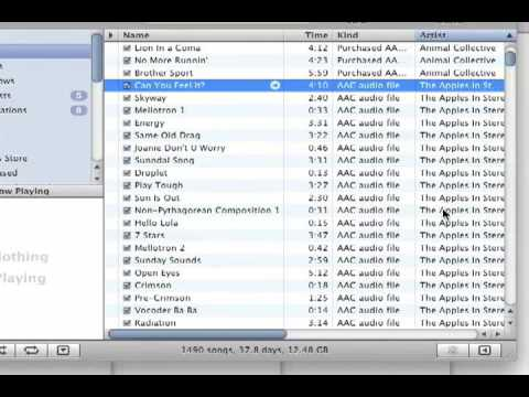 Create An Audio CD In iTunes  (One That Will Play In Your Car)