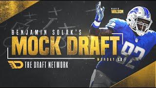 2021 NFL Mock Draft: Benjamin Solak 1 0
