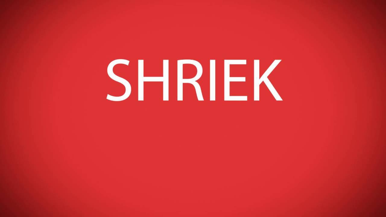 How to pronounce SHRIEK [Marvel characters]