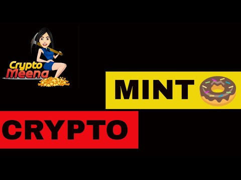 MINT DONUT BITCOIN CRYPTO