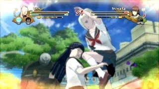 Naruto Ultimate Ninja Storm 3 School Uniform Ino vs School Uniform Hinata