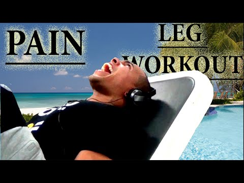 TRAINING LEGS AT THE MECCA OF THE CAYMAN ISLANDS
