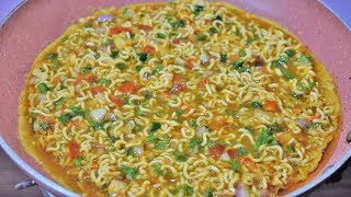Maggi Egg Omelette Recipe | Unique, Quick & Tasty - Dhaba Style