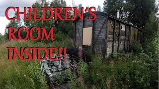 Creepy Train Wagon & Beautiful House 2/2 (driving in a misty sunset) URBAN EXPLORATION