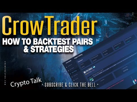 Bot Trading With CrowTrader - How To Backtest Bollinger Band Strategies