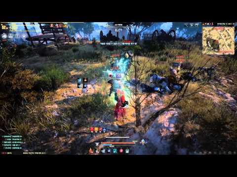 Black Desert Online High Level Witch Gameplay