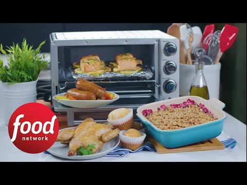 5 Toaster Oven Meals | Food Network