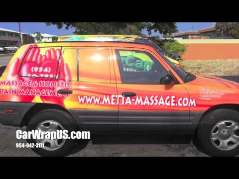 Toyota Rav4, Full 3M Vinyl Car Wrap, Pain Management Comp.Fort Lauderdale