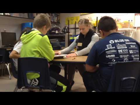 Katie Berg - Small group reading lesson
