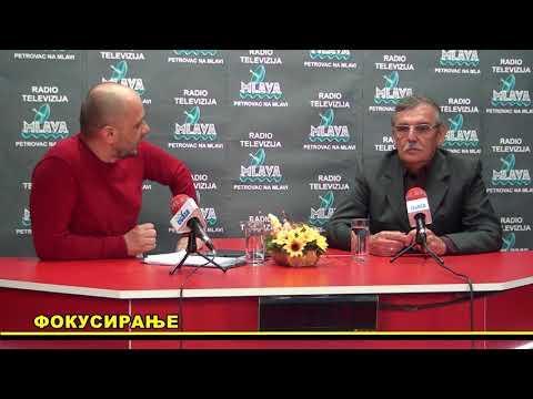 Fokusiranje RTV MLAVA, gost  Svetozar Radisic, april 2018.