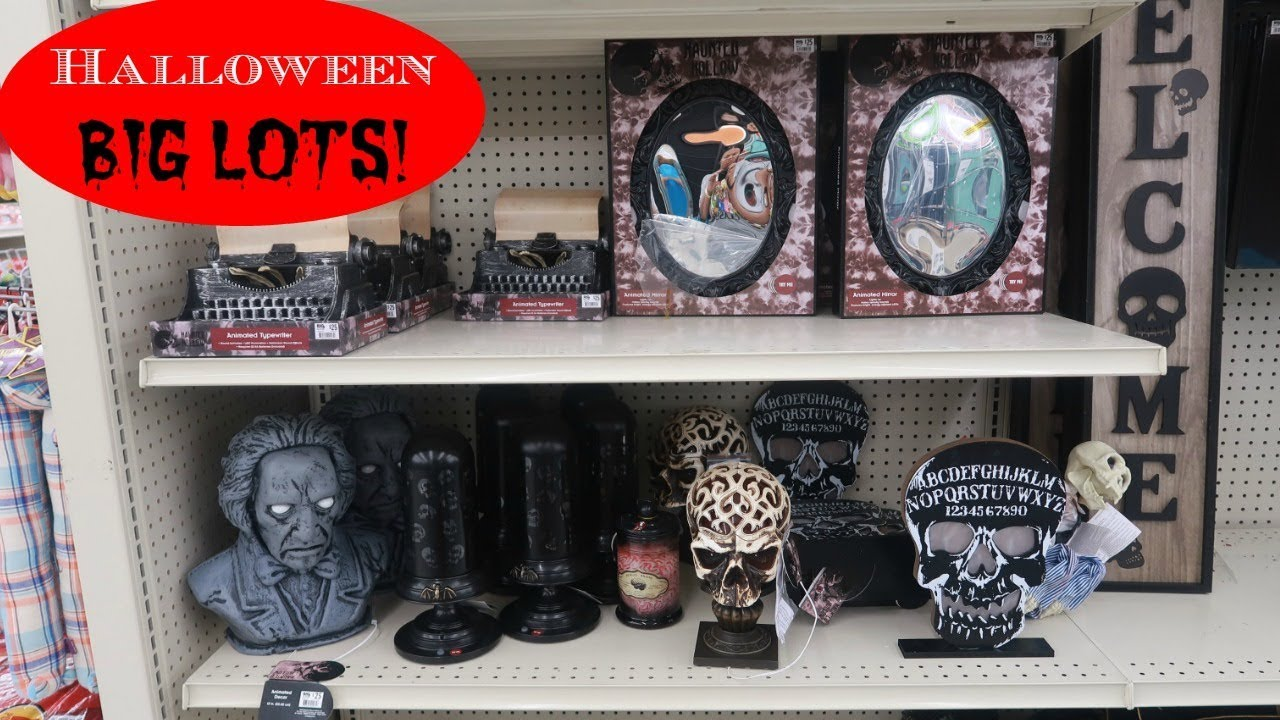 Big Lots Halloween Decorations 2019.Big Lots Halloween Decor 2019 Come Spook With Me