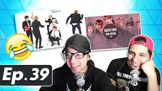 GUYS REACT TO BTS 'Run BTS' Ep. 39