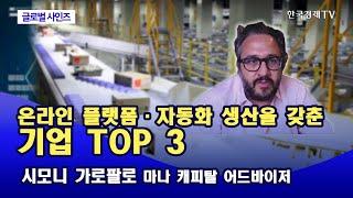 온라인 플랫폼 · 자동화 생산을 갖춘 기업 TOP 3 …