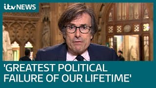 Robert Peston's scathing assessment of the current Brexit situation | ITV News