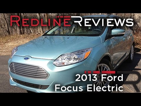 2017 Ford Focus Electric Redline Review