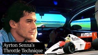 Ayrton Senna's Unique Throttle Technique ANALYSED