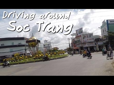 Driving around Soc Trang